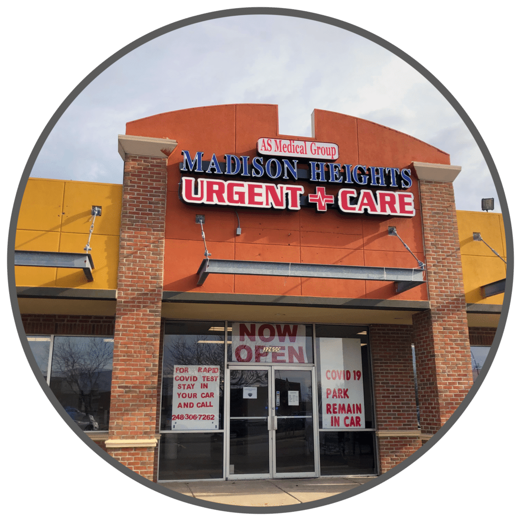 AS Medical Group Madison Heights Urgent Care Exterior